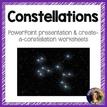 Constellations SMART notebook presentation