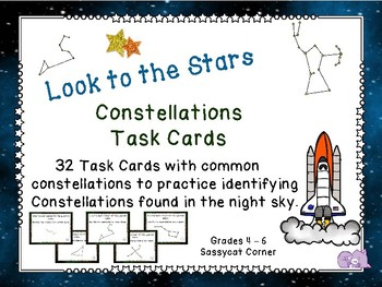 Constellations Task Cards