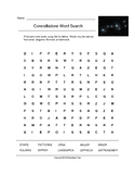 Constellations Word Search (Grades 3-5)