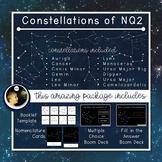 Constellations | Northern Celestial Quadrant 2 | Boom Cards™ + Nomenclatures