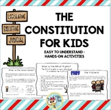 Constitution: the Framers, the Preamble, the Amendments: Second Grade