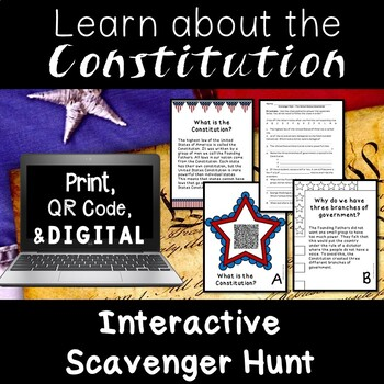 Constitution Day Informational Text Activities