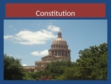 All About The Constitution PowerPoint Presentation