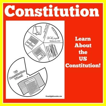Constitution Activity | US Constitution | American History Craft