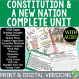 Constitution & A New Nation Curriculum