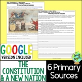 Constitution & A New Nation Primary Sources, Early US Hist