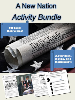 A New Nation Activity Bundle: 28 Total Lessons!