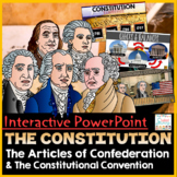 The Constitution PowerPoint & Google Slides | Google Classroom Distance Learning