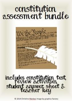 Constitution Assessment Bundle