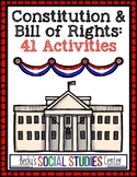 Interactive Notebook for the Constitution & Bill of Rights