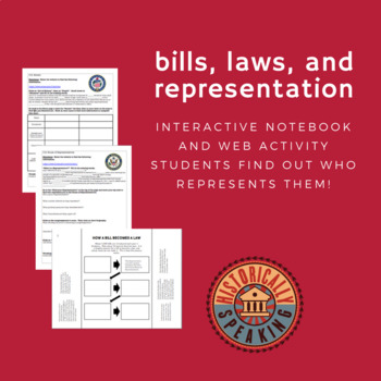 Constitution:  Bills, Laws, and Representation