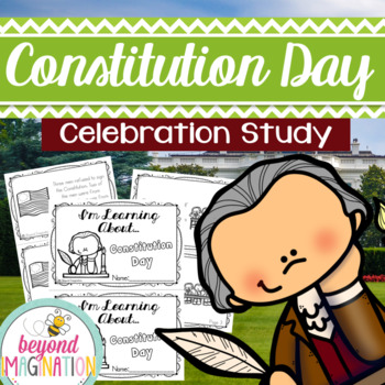 Constitution Booklet   44 Pages for Differentiated Learning + Bonus Pages