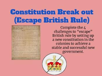 Constitution Break Out