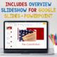 Constitution Bundle: Slideshow, Handouts, Study Guide & Constitution Test
