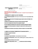 """""""Constitution Cafe"""" Lesson Plan Template and Grading Rubric for Ch. Prez"""
