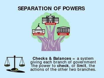 Constitution - Checks & Balances PowerPoint