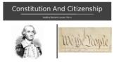 Constitution Citizenship Presentation