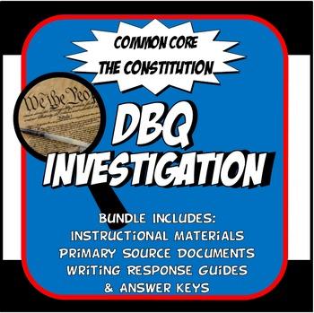 DBQ Constitution - Common Core DBQ Activity