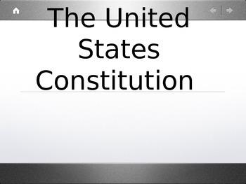 Constitution: Content; Concepts & Principles Powerpoint