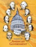 Constitution Crossword Puzzle, AMERICAN GOVERNMENT LESSON