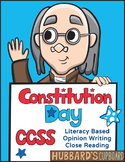 Constitution Day- ELA Close Reading- Text Dependent Opinion Writing/ 4th-6th Gr.