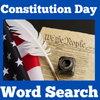 Constitution Day Word Search