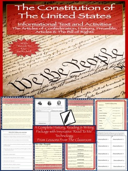 US Constitution Informational Text