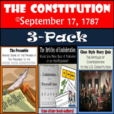 Preamble, Articles of Confederation, and Cloze Reading Bundle