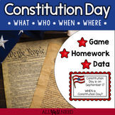 Constitution Day: A Wh- Questions Game