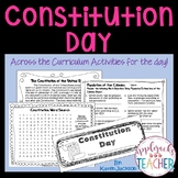 Constitution Day - Across the Curriculum Activities for the Day!