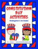 Constitution Day - Activities for Kindergarten and 1st Grade