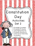 Constitution Day Activities Set 2