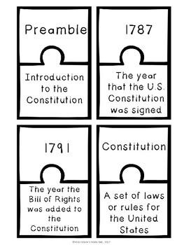Constitution Day Activities Set 2