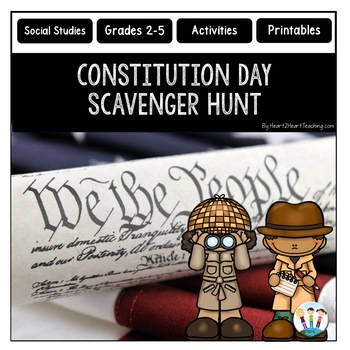 Constitution Day Activities: United States Constitution Scavenger Hunt