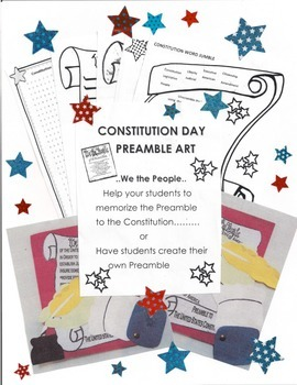 Patriotic Constitution Day Activities and Art