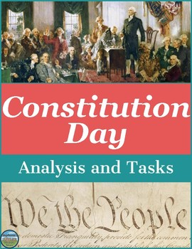 Constitution Day Activities and Writing Prompts