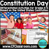 CONSTITUTION DAY | US Constitution | Social Studies Activities | US History