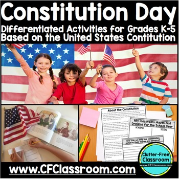 CONSTITUTION DAY | US Constitution | Social Studies Activi
