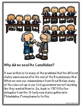Constitution Day Activities for K-3
