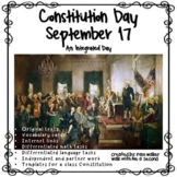 Constitution Day Activities for K-3 | Distance Learning