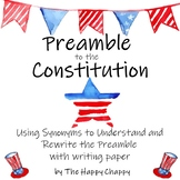 Constitution Day Activities with the Preamble