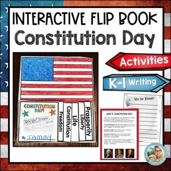 Constitution Day Activity Kindergarten &1st Grade FLIP BOOK