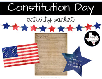 Constitution Day Activity Packet