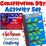 Constitution Day Activity Set: PowerPoint & Craftivity
