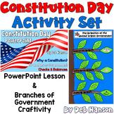 Constitution Day Activity Set: PowerPoint & Craftivity