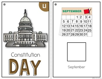 Constitution Day Adapted Books ( Level 1 and Level 2 )
