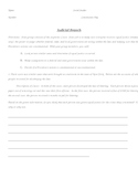 Constitution Day- Branches of Government Activity for Students