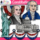 Constitution Day Clip Art {Founding Fathers, George Washington, Ben Franklin}