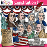 Constitution Day Clip Art | Founding Fathers, George Washington, Ben Franklin