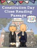 Constitution Day Close Reading Comprehension Passage and Questions